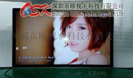OSK品牌55寸网络背挂广告机可解码超高清