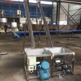 安徽阜陽化工粉螺旋上料機114管徑傾斜加料機不鏽鋼材質廠家