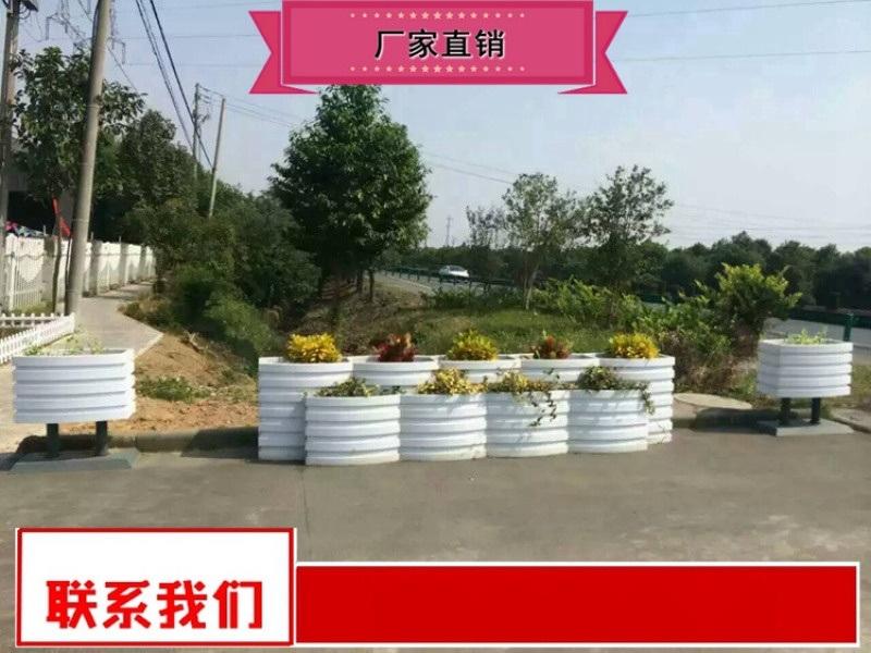 廠家製作公園綠化花箱製作廠家 戶外組合花箱