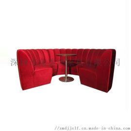 KTV卡座沙发,弧形沙发,转角沙发,配套茶几,