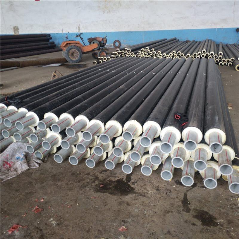 天水 鑫龙日升 聚氨酯硬质发泡预制管dn65/76聚氨酯热水保温钢管