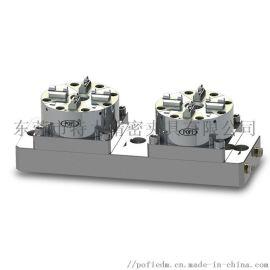 EROWA款2头D100CNC加工气动卡盘