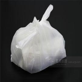 定做印刷尺寸的全生物基降解购物袋 半透明马夹袋 承重性能好