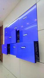 琉亭電子 拼接屏前維護支架 非標電視牆,操作臺生產