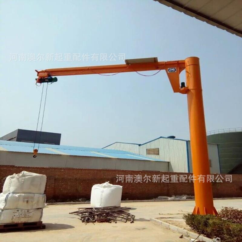 供應0.25-5T立柱式懸臂吊操作簡單移動式懸臂吊