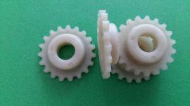 塑料链轮:尼龙PA66+30%GF就找东莞秦硕专业塑胶齿轮 尼龙齿轮