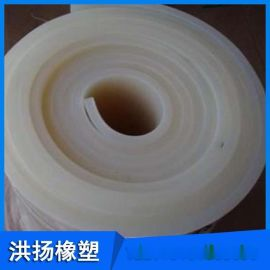 防静电硅胶板 耐高温白色胶板 硅胶垫片