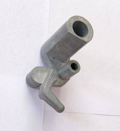 东莞锌合金门把手压铸,支架压铸,锌拉手