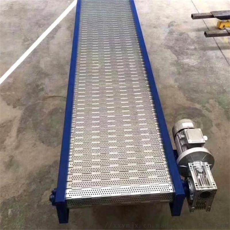 小型刮板移动皮带倾角输送机厂家直销