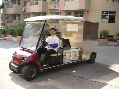 成都電動餐飲車, 電動觀光車電池