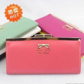 批发韩版女士长款钱包、女式钱包、零钱包、手机包、卡包