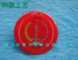 深圳定做印刷徽章厂,专业制作金属徽章,哪里有印刷徽章订购