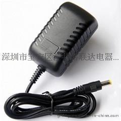 9V2A电源适配器 小电视移动便携式DVD/EVD充电器电源9V2A接口4.0