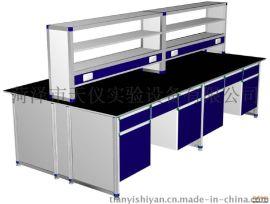 厂家供应全钢通风柜,实验室设备生产,中央台,检验操作台