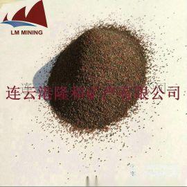 连云港隆和60目 80目水刀砂 石榴石磨料
