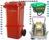 Injection moud 60L塑料垃圾箱模具 60L塑膠果殼箱模具 60L注射廢物箱模具價位