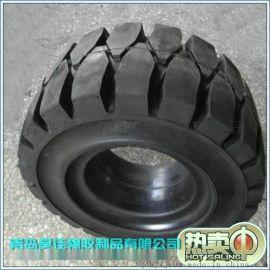 厂家直销10.00-20工程机械轮胎叉车实心轮胎