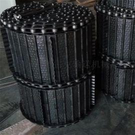 厂家直销 排屑机链板 输送链板  重载输送链板 工业履带定制