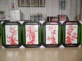 深圳福田區在益田專業裱畫的地方,裝裱十字繡的店,推薦福田最大的芊柏墨裱框中心