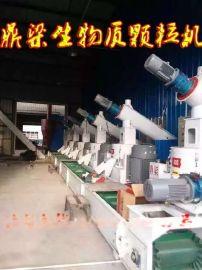 鼎梁牌生物质锅炉生物质颗粒机