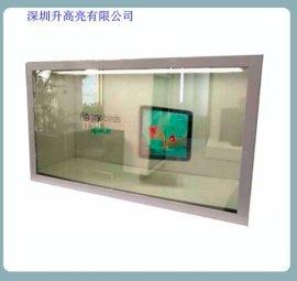 透明触摸屏透明LED显示屏价格厂家