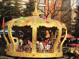 26座豪华皇冠转马,新型转马,转马厂家,儿童游乐设备