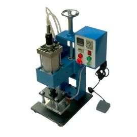 家具木制品商标图案LOGo烫印机 木材卡板木箱皮革塑料烙印机