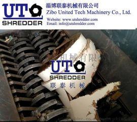 山东淄博联泰机械-厂家直销大型木桶撕碎机包装桶破碎机废旧木材撕碎机