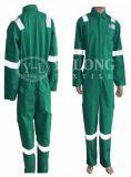 YL-215# 绿色阻燃连体服