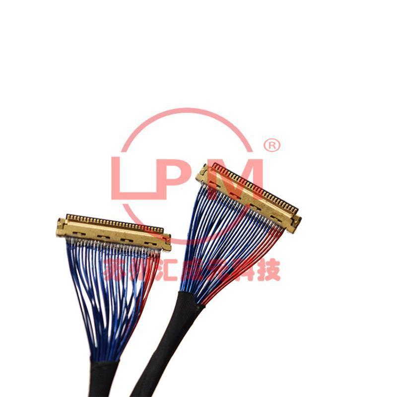 苏州汇成元电子供应I-PEX 20454-230T TO 20454-230T 缠绕屏线