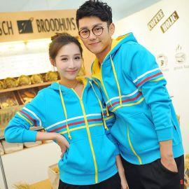 2017廠家定做韓版大碼寬鬆女裝ql情侶裝秋季新款韓國情侶衛衣外套