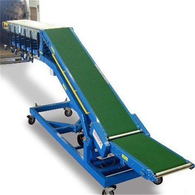 散粮、包粮传送带 轻型挡边输送机qc