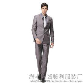 广州西装工厂承接西装西裤加工贴牌OEM