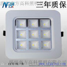 深圳方高照明低价9WLED厨卫面板灯 专业方型面板灯办公照明就是好