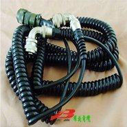 摊铺机用16*0.5mm螺旋电缆 弹簧线 伸缩线 屏蔽线