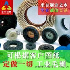 刷条 研磨刷 布轮刷 棉布轮 毛刷轮 木板刷 刷子 耐高温 耐酸碱 耐腐蚀
