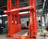 新疆乌鲁木齐厂家直销工业厂房货物提升机 电动液压升降货梯 2吨导轨式升降机