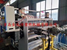 琉璃防腐屋面塑料瓦设备PVC合成树脂瓦生产线