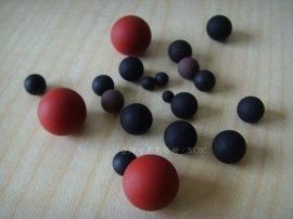 进口氟胶橡胶球 进口耐高温橡胶球