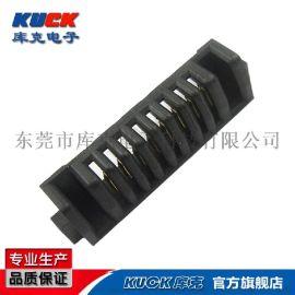 笔记本连接器A09F母座4-10Pin单面 间距2mmPH刀片式互连双触点