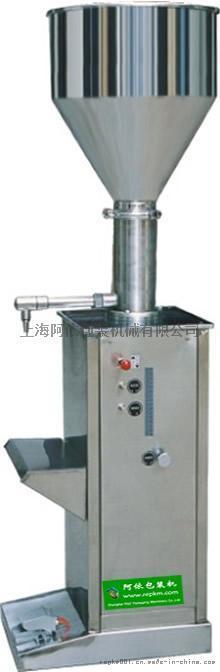 阿依100型膏體氣動灌裝機 不鏽鋼填充機