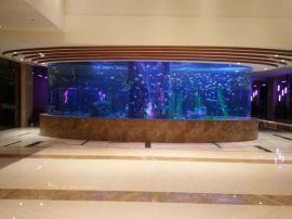 天目湖宾馆景观亚克力鱼缸