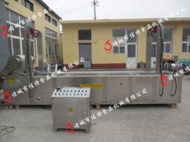 河南全自动猪皮油炸机 大型猪皮油炸生产线专业生产