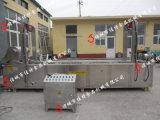 河南全自動豬皮油炸機 大型豬皮油炸生產線專業生產