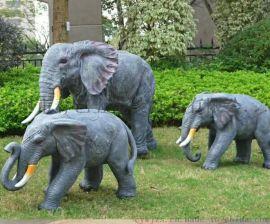 花园动物摆设价格 大型玻璃钢动物摆设