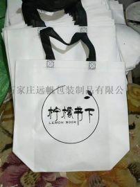 厂家直销无纺布手提袋,无纺布一次成型立体袋