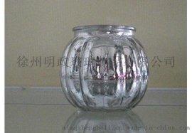 明政玻璃 专业玻璃制品厂家 玻璃烛台