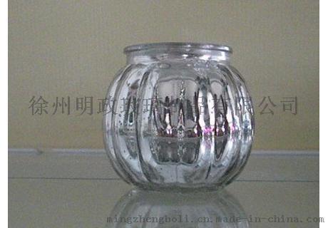明政玻璃 專業玻璃製品廠家 玻璃燭臺