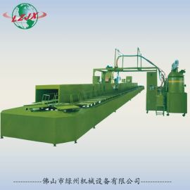 LZ-905PU鞋材发泡生产线 聚氨酯鞋材发泡机设备
