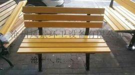 山西公园塑木平凳 户外休闲防腐木长椅景观园林椅子  公园靠背围树座椅组合休息桌椅定制